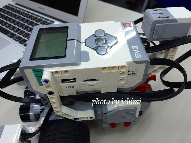 LEGOマインドストームEV3を使ったロボット教室に行ってきました。