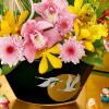 日比谷花壇の商品企画・デザイナーさんに聞いたお正月のお花のアレンジ方法