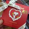 2016年バレンタイン グランフールの65周年スヌーピーとナノブロックチョコレート
