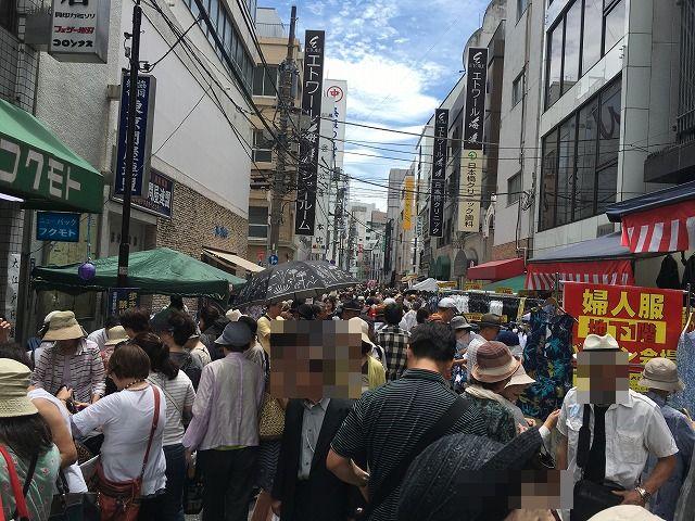 年に2回だけ個人も買い物ができる「大江戸問屋祭り」に行ってきました