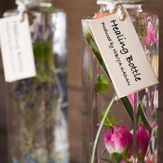 お花屋さんがつくったドライフラワー「ガラスコレクション」と「ハーバリウム」