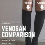 医療用弾性ストッキング比較【ベノサン7000/5000/シルバーライン】実際に履いてみた感想