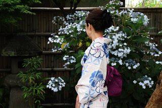 【SOUBIEN(創美苑)】40代向けおすすめ大人の浴衣で鎌倉散策